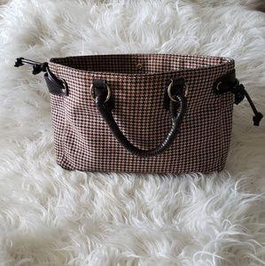 Victoria Secret brown and dark red purse